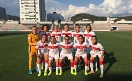 Kadın A Milli Takımı, Arnavutluk'u 2-1 yendi