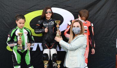 Türkiye Süpermoto Şampiyonası'nda sezonun son ayak yarışı yapıldı
